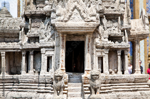 Foto op Aluminium Bedehuis Temple model design