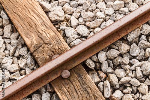 Valokuva  Old rail.
