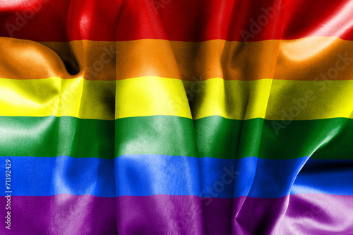 Photo Gay Pride Flag