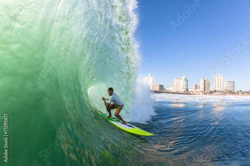 Surfing  Surfer SUP Tube Wave Wallpaper Mural