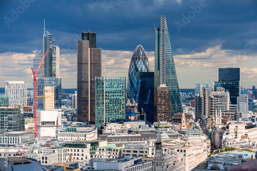 Photo  The City of London in the afternoon