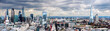 canvas print picture - The City of London Panorama