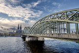 Fototapeta Most - Kölner_Brücke