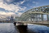 Fototapeta Bridge - Kölner_Brücke