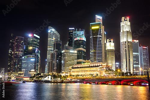 Foto auf AluDibond Singapur Marina Bay, Singapore