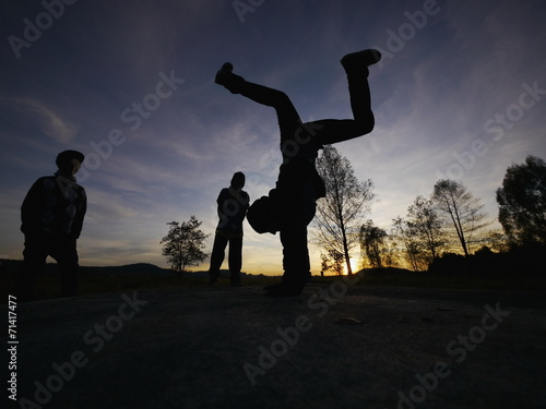 Fényképezés  breakdancer