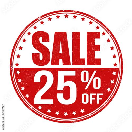 Fotografia  Sale 25% off stamp