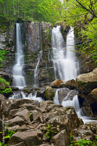 waterfall in the forest - 71429200