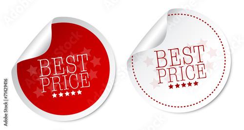 Fotografía  Best price stickers