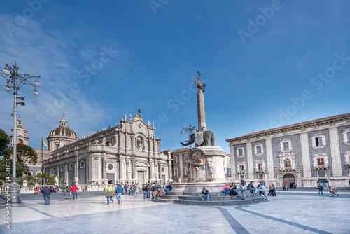 Photo Piazza del Duomo in Catania