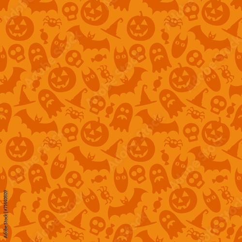 fototapeta na ścianę Halloween wektor szwu