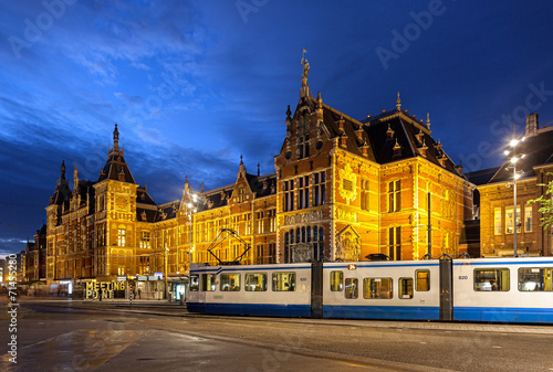 Photo  Amsterdam Central Station