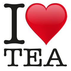 FototapetaI love Tea