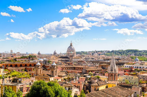 Poster Rome Rome and St. Peter's Basilica