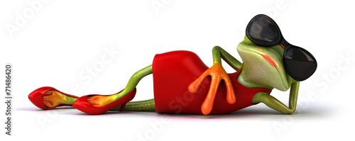 Fotografie, Tablou Sexy frog