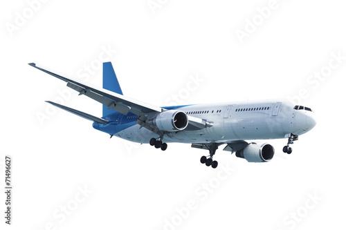 Poster Avion à Moteur Real jet aircraft