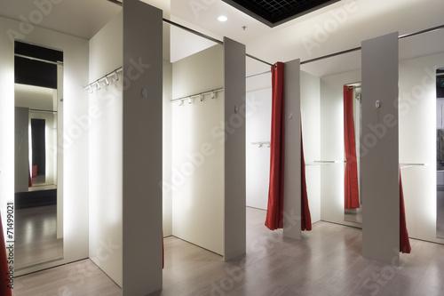 Fotografía  Fitting room interior