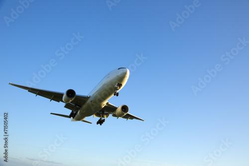 Foto op Canvas Vliegtuig 飛行機
