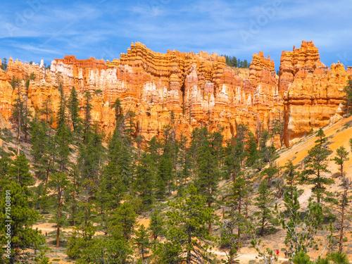 Foto op Aluminium Oranje eclat Bryce Canyon
