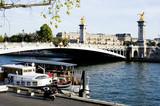 Fototapeta Paryż - sekwana
