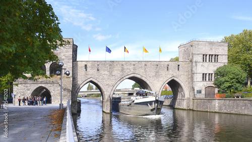 Pinturas sobre lienzo  Le Pont des Trous à Tournai (Doornik)