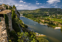 Aiguèze Alongside Canyon Of A...
