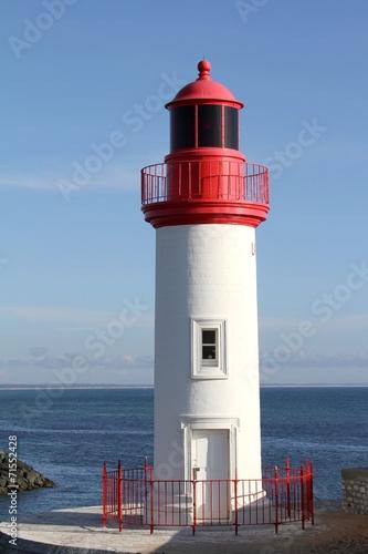 Garden Poster Lighthouse phare et port de pêche,la cotinière,île d'oléron