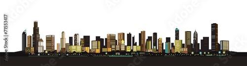 Plattensiedlung in einer Großstadt