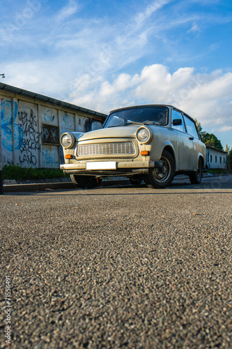 DDR Trabant 601 Canvas Print