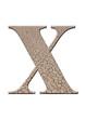 çatlaklı x harfi