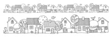 Hand Drawing Houses