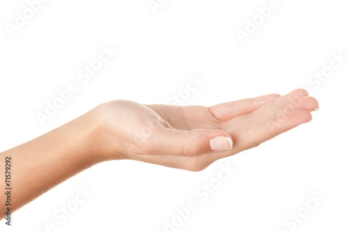 Holding something invisible