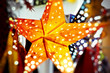 canvas print picture - Christmas star