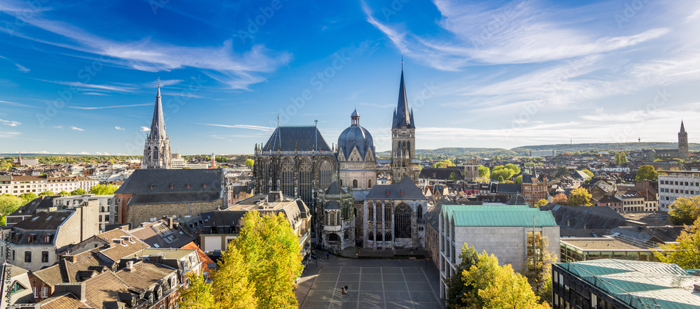 Fototapety, obrazy: Aachen im Herbst