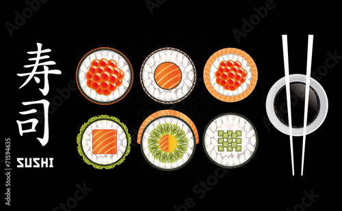 Sushi Pieces Collection - 71594635