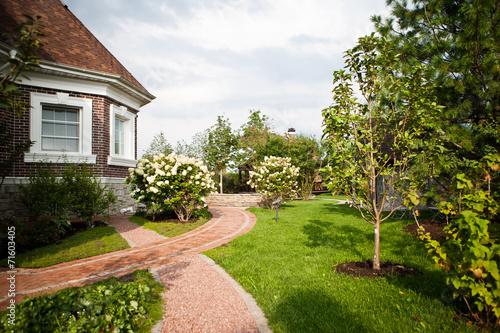 Fotobehang Tuin Сад / Garden