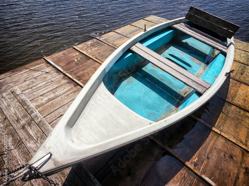 Canvas Prints Textures fishing boat