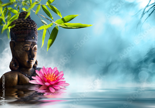 Buddha in meditation - 71613839