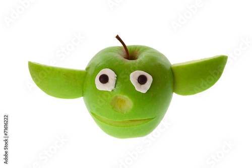 Apfel - Yoda Poster