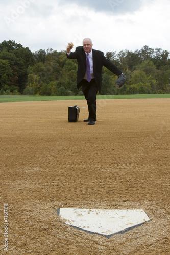 Fotografie, Obraz  Making a Pitch
