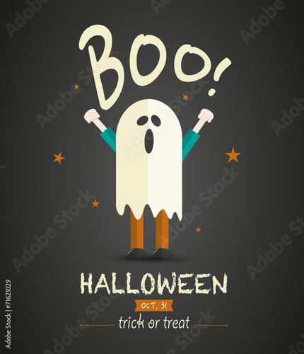 Fotografia, Obraz  Spooky Halloween Children