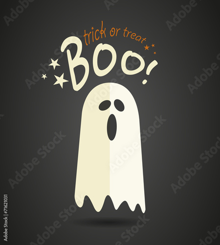 Halloween ghost Canvas-taulu