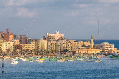 Cadres-photo bureau Egypte View of Alexandria harbor, Egypt