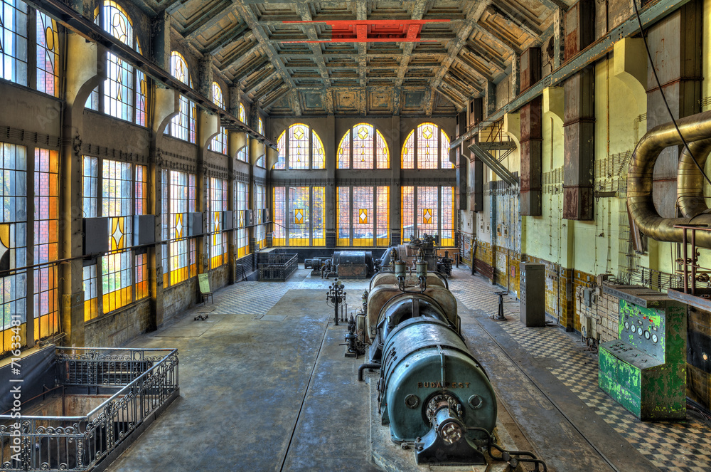Old style power. HDR-high dynamic range