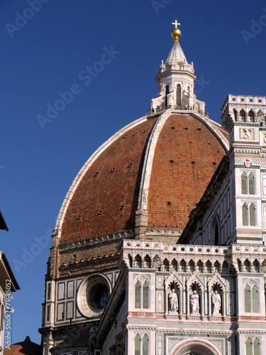 Fotografie, Obraz  Cúpula Santa Maria del Fiore, Firenze, Italia