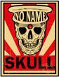 Skull Vintage Vector Poster Man T shirt Graphic Design