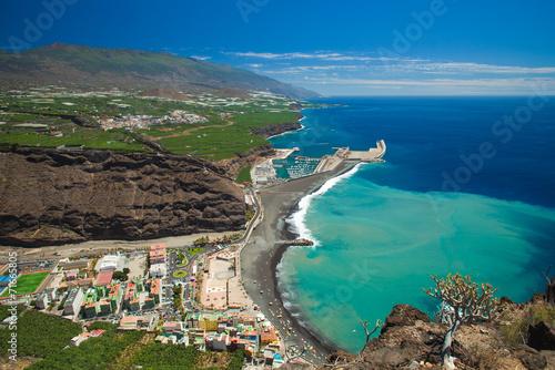 Fotografia  La Palma, view from viewpoint Mirador el Time