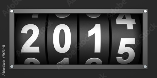 Fotografie, Obraz  2015 New year countdown timer