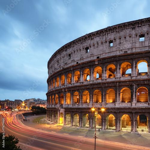 In de dag Rome Colosseum in Rome - Italy