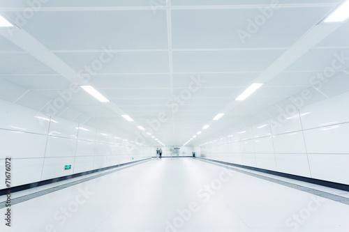 Papiers peints Tunnel underground passge of modern city